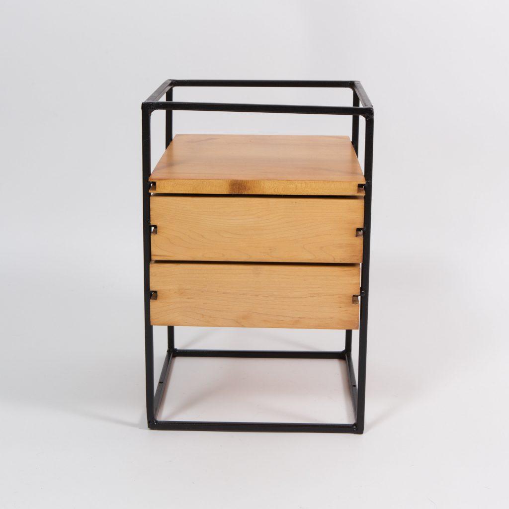 Paul Mccobb Maple And Iron Desktop Drawer Unit 1950 S
